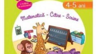 Cartea Istet de mic! Lumea animalelor 4-5 ani matematica, citire, scriere (download, pret, reducere)