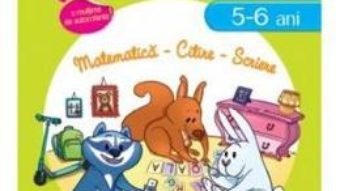 Cartea Istet de mic! Lumea animalelor 5-6 ani matematica, citire, scriere (download, pret, reducere)