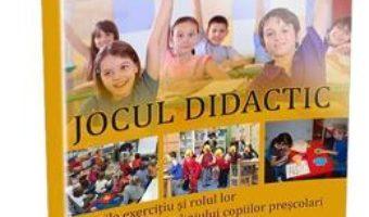 Jocul didactic – Floarea Stan PDF (download, pret, reducere)
