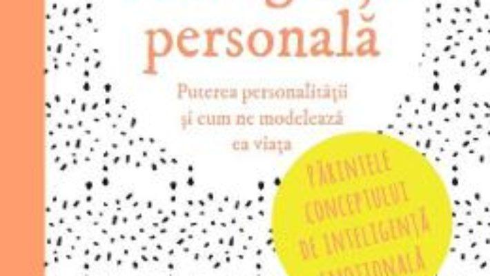Inteligenta personala – John D. Mayer PDF (download, pret, reducere)