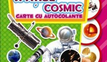 Pret Carte Stiinta distractiva: Exploram spatiul cosmic – Carte cu autocolante