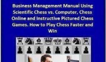 Pret Carte Business Intelligence and Scientific Management Training – Constantin Mihaescu