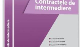 Pret Carte Contractele de intermediere – Andreea Stoican