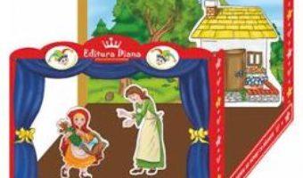 Pret Carte Teatru de papusi integral: Scufita Rosie