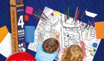 Pret Carte Disney: Zootropolis – Lumea magica a culorilor (4 Megaplanse)