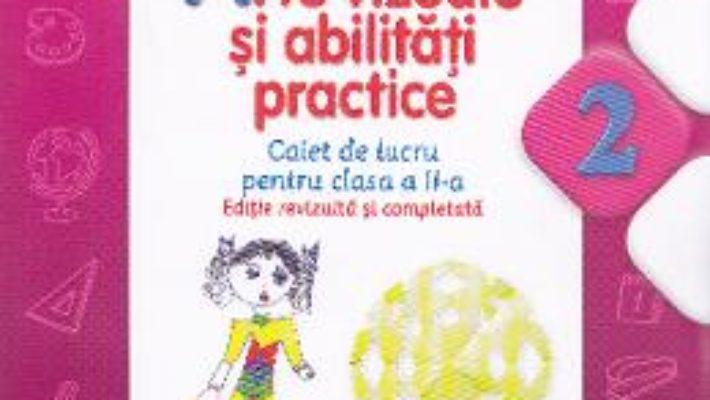 Pret Carte Arte vizuale si abilitati practice cls 2 caiet – Cristina Rizea (editie revizuita si completata)
