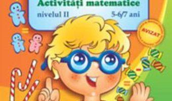 Pret Carte Calculam cu Socotici activitati matematice nivelul II 5-6,7 ani – Dorina Telea