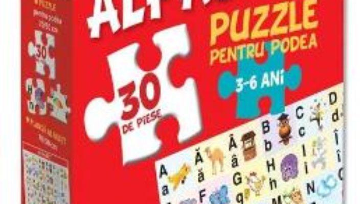 Pret Carte Alfabet: puzzle pentru podea 3-6 ani – 20 Piese