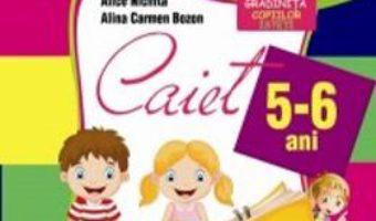 Pret Carte Domeniul Limba si Comunicare – 5-6 ani – Alice Nichita, Alina Carmen Bozon