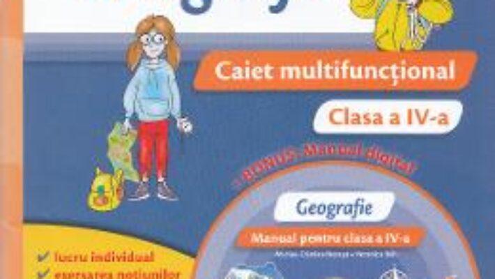 Carte Geografie – Clasa a 4-a – Caiet multifunctional + CD – Marius-Cristian Neacsu, Veronica Reh PDF Online