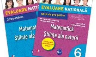 Pret Carte Evaluare nationala Matematica si Stiinte ale naturii cls 6 – Iunona Stas, Gabriel Vrinceanu