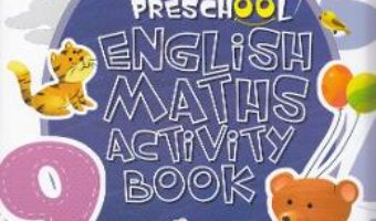 Pret Carte Preschool English Maths Activity Book
