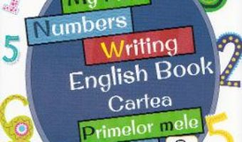 Pret Carte My First Numbers Writing English Book. Cartea primelor mele numere