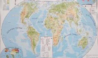 Pret Carte Harta politica a lumii + Harta fizica a lumii