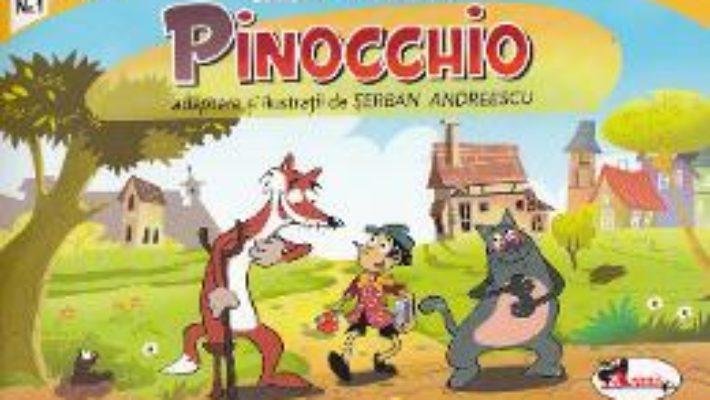 Cartea Pinocchio (benzi desenate) – Carlo Collodi (download, pret, reducere)