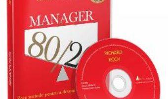 Cartea CD Manager 80/20 – Richard Koch (download, pret, reducere)