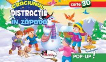 Cartea Pop-up 3D: Craciunul. Distractie in zapada (download, pret, reducere)