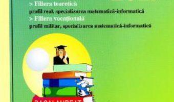 Cartea BAC 2017 Matematica M Mate-info M1 – Mihai Baluna (download, pret, reducere)