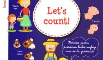 Cartea Let's count! + CD – I learn English with Peter and Emily – Annie Sussel, Christophe Boncens (download, pret, reducere)