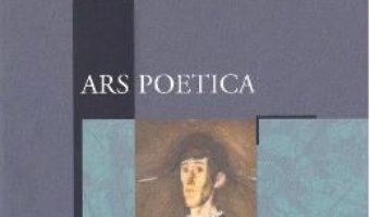 Cartea Ars poetica (download, pret, reducere)
