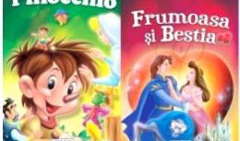 Cartea 2 Povesti: Pinocchio si Frumoasa si Bestia (download, pret, reducere)