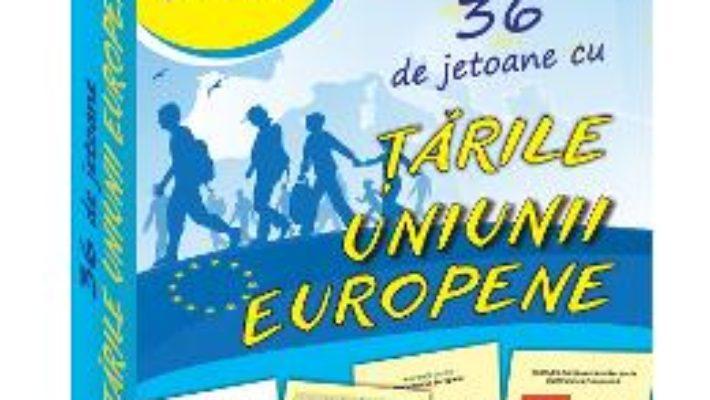 Cartea 36 de jetoane cu tarile Uniunii Europene (download, pret, reducere)