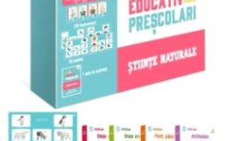 Cartea Kit educativ pentru prescolari: Stiinte naturale (download, pret, reducere)
