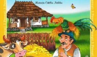 Cartea 3 povesti: Punguta cu doi bani. Acul si barosul. Cainele si iepurele (download, pret, reducere)