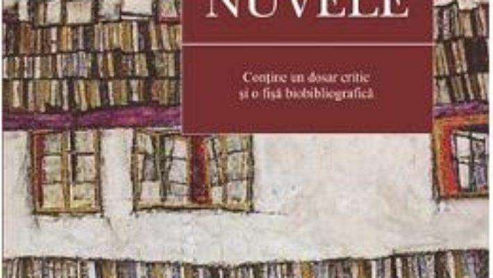 Cartea Nuvele – I.L. Caragiale (download, pret, reducere)