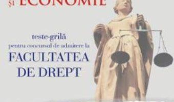 Cartea Limba romana si Economie.Teste-grila pentru Facultatea de Drept ed.5 – Anca Davidoiu-Roman (download, pret, reducere)