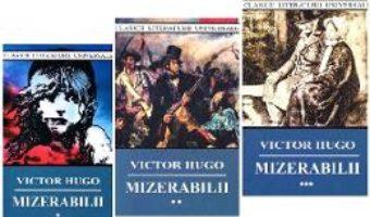 Cartea Mizerabilii vol.1+2+3 ed. 2018 – Victor Hugo (download, pret, reducere)