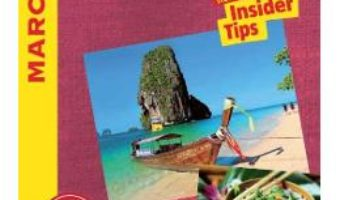 Cartea Thailand Marco Polo Travel Guide – with pull out map (download, pret, reducere)