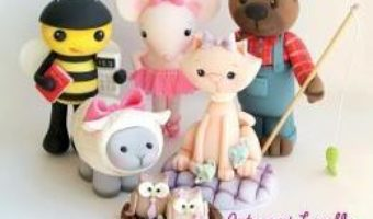 Cartea Sugar High Presents… Cute & Easy Cake Toppers – Brenda Walton (download, pret, reducere)