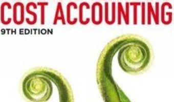 Cartea Management and Cost Accounting: Student Manual – Colin Drury (download, pret, reducere)