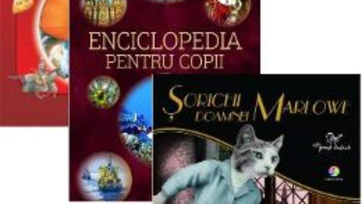 Cartea Pachet Enciclopedia pentru copii + Enciclopedia stiintelor + Soriceii doamnei Marlowe (download, pret, reducere)