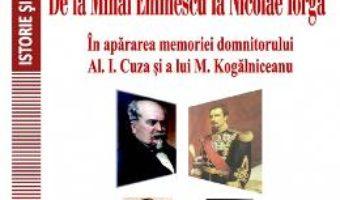 Cartea De la Mihai Eminescu la Nicolae Iorga – Nicolae Isar (download, pret, reducere)