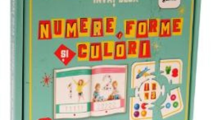 Cartea Invat deja – Numere, forme si culori (download, pret, reducere)