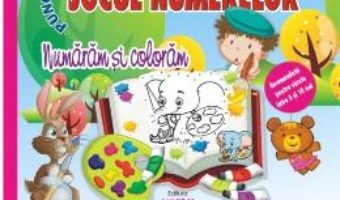 Cartea Jocul numerelor – Numaram si coloram (download, pret, reducere)