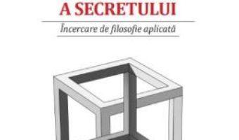 Cartea Fenomenologia existentiala a secretului – Istvan Kiraly V. (download, pret, reducere)