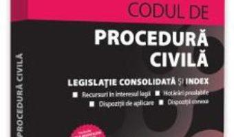Cartea Codul de procedura civila Ianuarie 2019 – Dan Lupascu (download, pret, reducere)