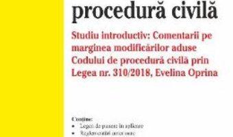Cartea Codul de procedura civila Ed. 15 Act. 7 ianuarie 2019 (download, pret, reducere)
