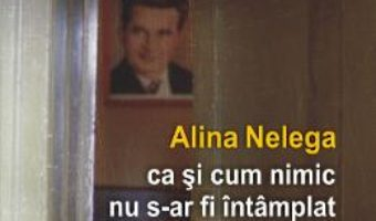 Cartea ca si cum nimic nu s-ar fi intamplat – Alina Nelega (download, pret, reducere)
