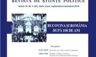 Cartea Polis Vol. 6 Nr. 4 (22). Serie noua. Septembrie-noiembrie 2018. Revista de stiinte politice (download, pret, reducere)