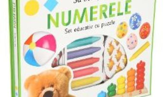 Cartea Sa invatam numerele. Set educativ cu puzzle – Holly Price, Ellie Boultwood (download, pret, reducere)