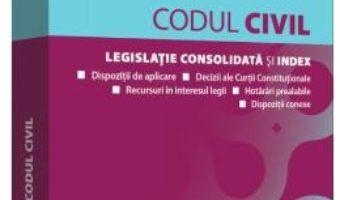 Cartea Codul civil act. ianuarie 2019 – Dan Lupascu (download, pret, reducere)