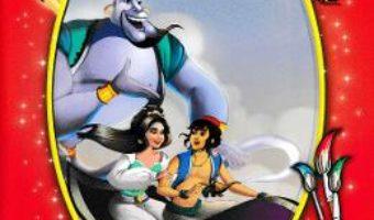 Cartea Aladin si lampa fermecata – Citim si coloram (download, pret, reducere)
