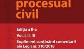 Cartea Drept procesual civil. Ed.2 – Mihaela Tabarca (download, pret, reducere)