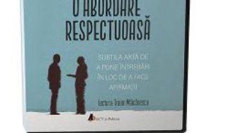 Cartea Audiobook. O abordare respectuoasa – Edgar H. Schein (download, pret, reducere)
