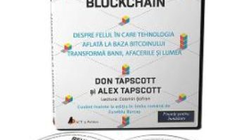 Cartea Audiobook. Revolutia blockchain – Don Tapscott, Alex Tapscott (download, pret, reducere)