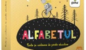Cartea Alfabetul – Cartoane de perete educative si decorative (download, pret, reducere)